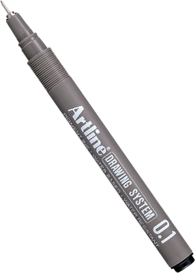 Tech Drawing Pens Artline