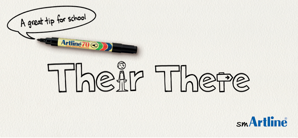 Their, There | smArtline